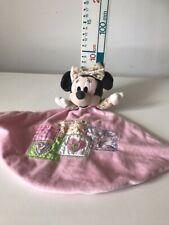 Disney Hellrosa Minnie Maus Plüsch Baby Decke Plüschtier Schmusedecke