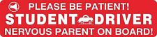 Student Teen New Driver Magnet Vehicle Car Caution Safety Magnetic Signs #10