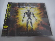 SEALED NEW!! U.D.O.-Dominator JAPAN 1st.Press w/OBI BONUS TRACK Accept Scorpions