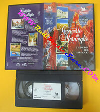 VHS film INCANTO DELLA NATURA MUSICA Concerto di meraviglie READER (F118*)no dvd
