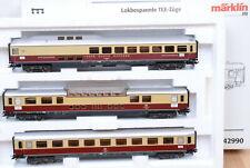 """Märklin 42990 Wagenset /""""TEE Rheingold/"""" der DB Licht stromf Neuwertig! KK"""