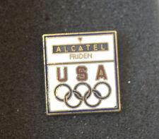 1984 Olympic Alcatel Friden USA Pin