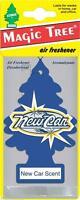 5 X NEW CAR SCENT MAGIC TREE AIR FRESHENER CAR HOME VAN OFFICE TOILET TAXI CAB,