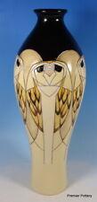"""MOORCROFT Tengu Owls 42/12 (Retired Shape) Vicky Lovatt Large 12"""" Vase RRP £320"""