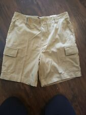 Mens Cargo Brown Shorts Covington  Size 38  Brand new