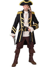 "Deluxe Quality  ""Wool like"" Pirate Captain's Coat  - S- XXL"