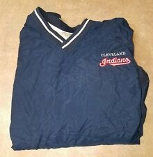 RAWLINGS LINED PULLOVER CLEVELAND INDIANS SZ 2XL