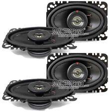 """(4) New! Kenwood Kfc-4675C 4x6"""" 120 Watt 2-Way Car Audio Speakers System Package"""