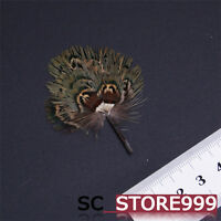 """1/6 Accessory Peacock Hair Palm Fan Toy Model Props Figure For 12"""" Doll"""