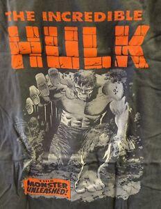 The Incredible Hulk T-Shirt Marvel M Medium New