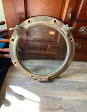 21 inch Heavy Duty Brass Nautical Porthole glass window