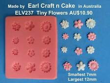 Small Flowers mini, Mould for Cake Decorating Gum Paste Cake Decorating cupcakes