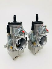 pair carburettors DELLORTO PHM 40 left and right new and original