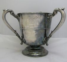 Antique Silver Plate Trophy Presentation Cup 1893 Tyg