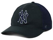 New York Yankees MLB Draft Day '47 Brand CLOSER Cap Hat Charcoal Stetch Fit L/XL