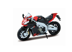 Aprilia RSV4 in Red (1:18 scale by Welly 12833)