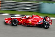 Ferrari F1 Formula One Automotive Car Wall Art Giclee Canvas Print Photo (221)
