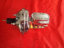 1962-1967 CHEVY II nova CHROME brake booster master cylinder pro valve pv4