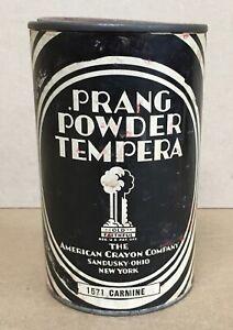 Prang Powder Tempera vintage collectible tin