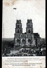 ORLEANS (45) PILOTE BIELOVUCIC en Raid PARIS-BORDEAUX en AVION Voisin