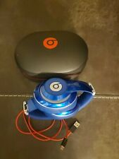 Beats By Dre- Wireless Studio Headphones- Blue- Mint Condition