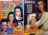 SHEILA => coupure de presse 2 pages 1980 // FRENCH CLIPPING