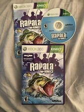 Rapala for Kinect Xbox 360 Fishing Game + Manual. Region Free