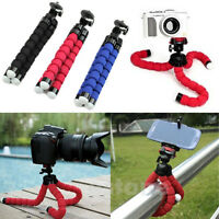 Mini Portable Flexible Sponge Octopus Tripod Stand Mount & Holder iPhone Camera
