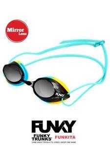 FUNKY Training Machine Goggles - Whirlpool Mirrored
