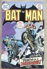 Batman #264-1975 vg- Evel Knievel / Ernie Chan