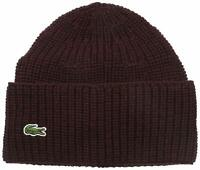 Lacoste Vendange Cardigan Rib Knitted Hat