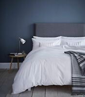 Catherine Lansfield Pom Pom White Duvet Cover Set S/D/K/SK and Accessories