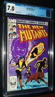 NEW MUTANTS #1 1983 Marvel Comics CGC 7.0 FN/VF