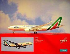 Herpa ALI 1:500 Airbus A330-200 ALITALIA EJGA 528924 modellairport500