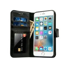 iPhone 6s Premium Luxury Flip Case Wallet Cover With Photo ID, Credit Card Slots