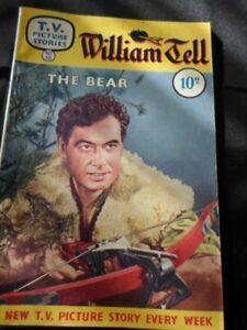 1950's comic TV PICTURE STORIES - William Tell - Conrad Phillips