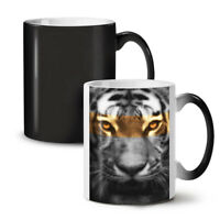 Tiger Art Wild Cat NEW Colour Changing Tea Coffee Mug 11 oz   Wellcoda