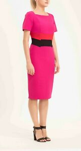 Brand new with tags designer dress in gorgeous crepe fabric sizes 16 and 18