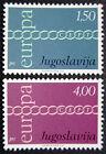 JUGOSLAVIA 1971: EUROPA SERIE COMPLETA NUOVI COME DA FOTO