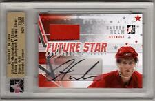 DARREN HELM ITG Ultimate Auto Autograph Jersey ROOKIE Detroit Red Wings SP