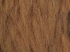 Honey Plain Faux Fur Fabric Short Hair 150cm Wide SOLD BY THE METRE