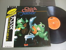 CHICK COREA Japan LP wOBI, FRIENDS