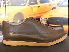 NEW Tsubo Hesperia  wingtip Brown / Olive  Leather 8187 crepe sole US 9 So Nice