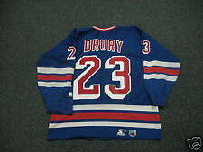 Chris Drury Signed New York Rangers Jersey Autographed