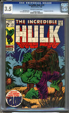 Incredible Hulk #121 CGC 3.5 VG- Universal CGC #1026513026