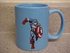 MARVEL COMICS AVENGERS CAPTAIN AMERICA TRUE BLUE BEVERAGE MUG CUP