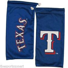 Texas Rangers All In One Microfiber Eyewear Storage Bag/Cleaning Cloth