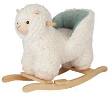 Jiggle & Giggle Baby Rocking Plush Stuffed Llama with Chair