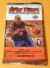 2004-05 Topps Basketball HOBBY Pack 10-Card Auto? Quantity Discount Available