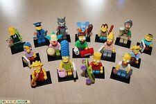 LEGO® 71005 The Simpsons™ Serie 1 Komplett Set - alle 16 Figuren - NEU in OVP -